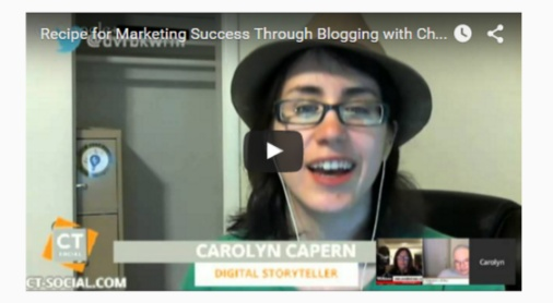 Your Recipe for Marketing Success Using Your Blog with Chef Dennis & Carolyn Capern