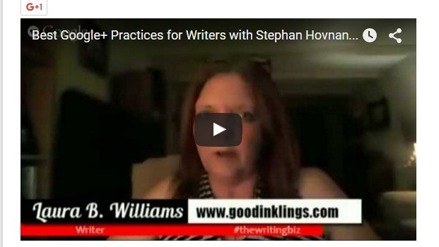 Google+ Best Practices for Writers with Stephan Hovnanian