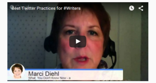 Twitter for #Writers With Marci Diehl